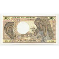 Габон (Gabon) P6a 5000 Francs