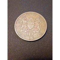 Кения 10 центов 1971г.