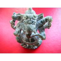 РЕЗЬБА ПО НЕФРИТУ. Индийское божество Ганеша.