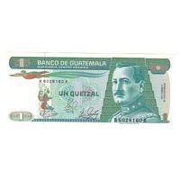 Гватемала 1 кетцель 1989 года. Состояние UNC! Нечастая!