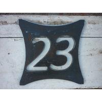 Номер, дом, котедж, цифры, ковка, металл.