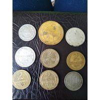 Монеты, серебро, бронза