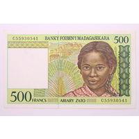 Мадагаскар, 500 франков 1994 год.