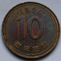 10 вон 1995 Корея