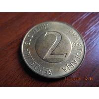 2 толара, Словения, 1998 г.