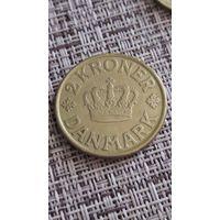Дания 2 кроны 1925 г