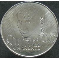 Армения 100 драмов 1997 100 лет со дня рождения Егише Чаренца