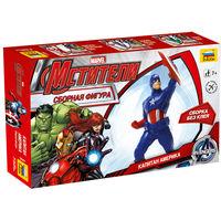 """Фигура Мстители Капитан Америка, сборная модель """"Звезда"""" 2041"""