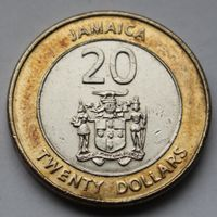 Ямайка, 20 долларов 2006 г.