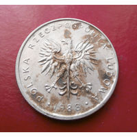 10 злотых 1988 Польша #15