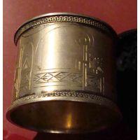 Салфетница иудаика серебро модерн 36гр 84пр