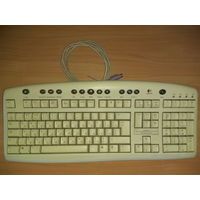 Мультимедийная проводная клавиатура Logitech Y-SQ33 SK-2910 PS/2