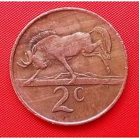 58-16 ЮАР, 2 цента 1984 г.