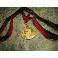 Медаль, плавание 25 метров.