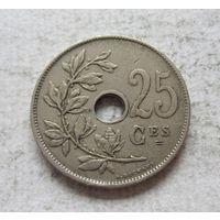 Бельгия 25 сантимов 1927 ROYAUME DE BELGIQUE