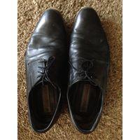 Туфли мужские 40,5 р-р кожа натур.