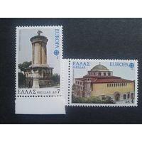 Греция 1978 Европа архитектура полная серия