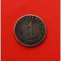 22-17 Германия, 1 пфенниг 1931 г.(А)