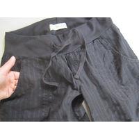 Легкие летние брюки C&A на резинке, р.44