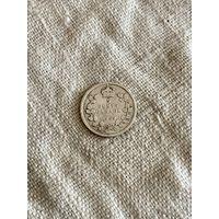 Канада 5 центов 1909 г.