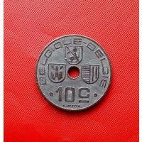 89-26 Бельгия, 10 сантимов 1943 г. Французский тип