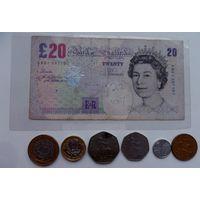 24,07 фунта Великобритания /цена за все/