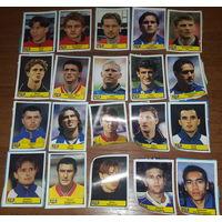 Вырезанные наклейки Евро 2000