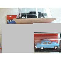 Легендарные советские автомобили (масштаб 1:24), номера 1 и 2 (всего 2 шт.,одним лотом). Подробности внутри. Снижение цены.