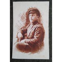 Фото красного командира (копия) 6х9 см.