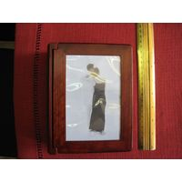 Пластиковый альбом для фото, открыток, изображений 10х15 см со 100 файлами.