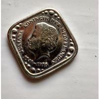 Нидерланды 5 центов, 1978 30 лет правления Королевы Юлианы 4-1-18