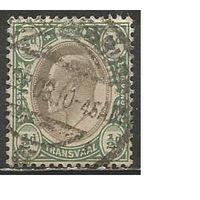 Трансваль. Король Эдуард VII. 1902г. Mi#102.