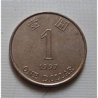 1 доллар 1997 г. Гонконг