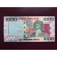 Сьерра-Леоне 1000 леоне 2013 UNC