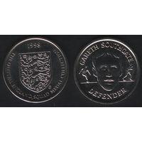 Official England Squad. Defender. Gareth Southgate -- 1998 - The Official England Squad Medal Collection (f01)