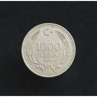 1000 лир 1990 Турция #01