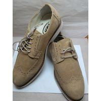 Туфли мужские замшевые новые