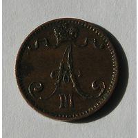 Русс. Финляндия 1 Пенни 1892 (105)