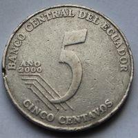 Эквадор, 5 сентаво 2000 г