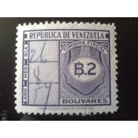 Венесуэла 1947 фискальная марка