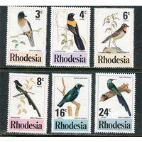 Родезия. Птицы