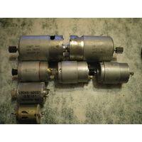Электродвигатели разные, опись внутри.