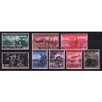 1943 Польша Вторая мировая война Правительство в изгнании 8х-марок**