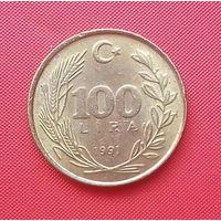 65-05 Турция, 100 лир 1991 г.