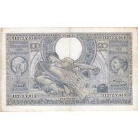 Бельгия, 100 франков, 1943 г.