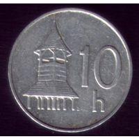 10 геллеров 1996 год Словакия
