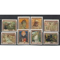 Руанда Картины Религия 1981 год чистая полная серия из 8-ми марок