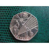 50 пенсов, Великобритания, 2011, Волейбол