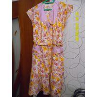 Платье домашнее размер 54 фабричное производство