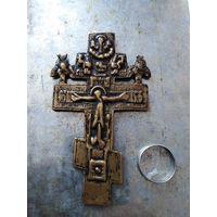 Крест наперстный. Старинный.Старообрядческий.